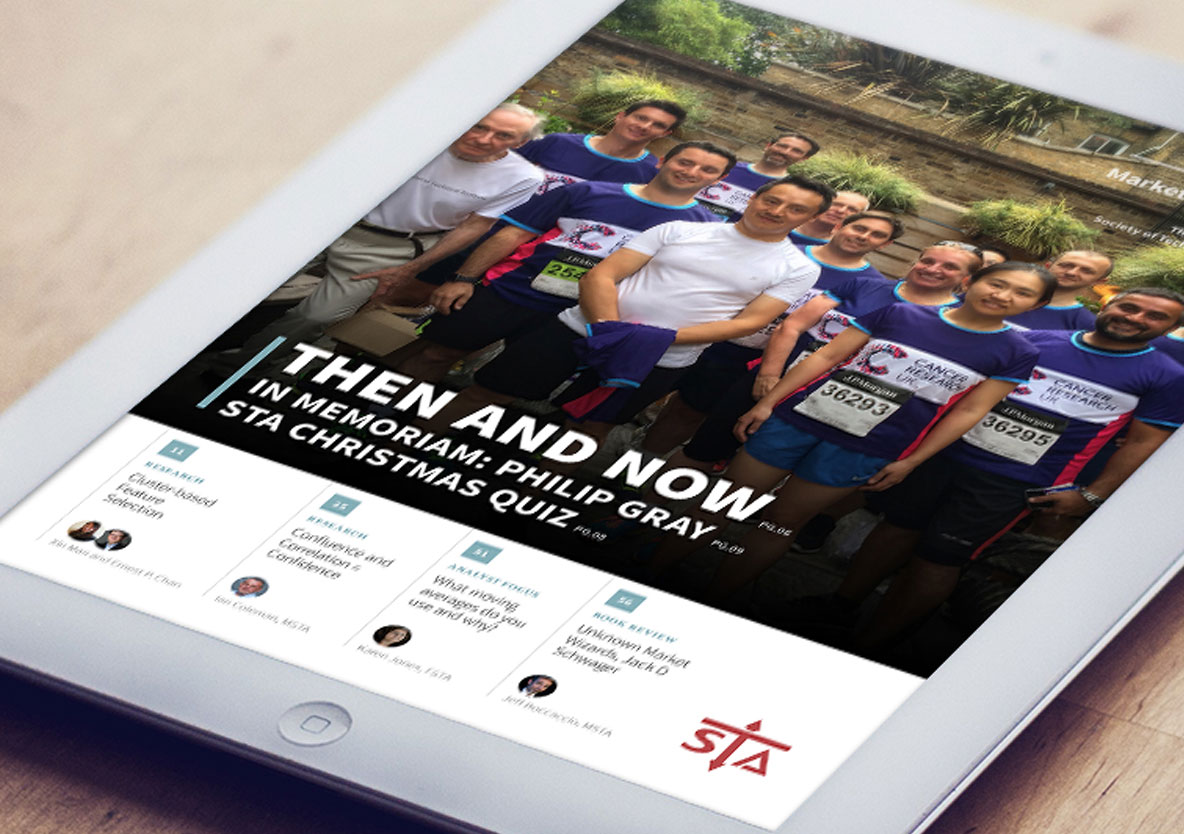 Hot off the press! The latest STA journal is available for download